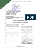 Speculative v. Mattson - Complaint