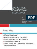 Competitive Excellence
