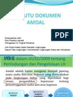 Uji Mutu Dokumen Prov Sulut