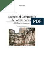 Asanga El Compendio Del Abhidharma. (Abhidharmasamuccaya)