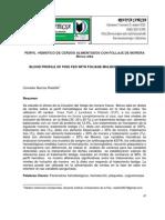 PERFIL HEMÁTICO DE CERDOS ALIMENTADOS CON FOLLAJE DE MORERA Morus alba