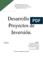 Desarrolllo de Proyectos de Inversion. completo.docx