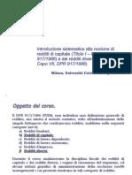 Fiscalità Attività Finanziarie (Lezione 5-4-2011)
