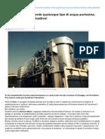 Dionidream.com-Invenzione Italiana Rende Qualunque Tipo Di Acqua Purissima Compresa Quella Radioattiva