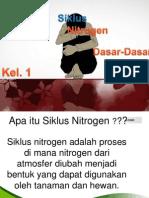 Siklus Nitrogen di Alam by M.Fawzul.A.N