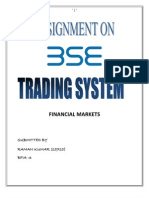 bse trading system
