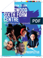 Lordswood Sixth Form Prospectus 2014/15