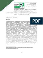 RESPUESTA MORFOMETRICA INTESTINAL DE POLLOS ALIMENTADOS CON DIFERENTES NIVELES DE MORERA (Morus alba)