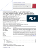 Internasional-Food Fermentations Microorganisms With Technological Beneficial Use