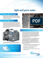 WaterSecure Factsheet Ultraviolet Light Web