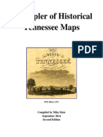 A Sampler of Historical Tennessee Maps - Second Edition