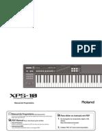 MANUAL DO ROLAND XPS-10 - PORTUGUÊS