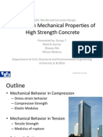 Group 7_Mechanical Properties of HSC