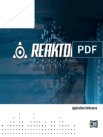Reaktor 5 Application Reference English