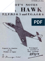 Hawker Sea Hawk Pilots Notes
