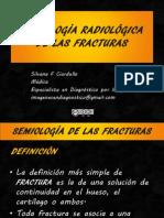 Semiologia Radiológica de las Fracturas