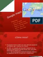 Presentacion de Google Maps para la avaluacion del bloque 3