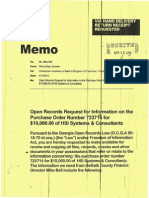 Commissioner Sharon Barnes Sutton Documents (2) on $10,000 Check