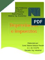 Depreciación e Impuestos
