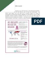 Análise sobre o Dia Internacional Da Mulher no jornal O Estado de S. Paulo