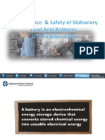 Maintenance and Safety of Stationary Lead Acid Batteries.pptx