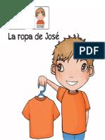 Cuentos Para Niños Con Pictogramas TEA ACNEAE La Ropa de JOSE