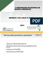 Decreto 1443 de 31 Julio de 2014