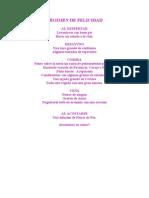 REGIMEN DE FELICIDAD