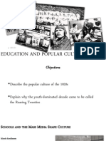 1303 education and popular culture