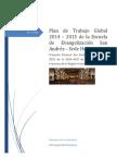 Plan de Trabajo Global 2014 de La Escuela San Andrés - V2