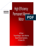Marand High Efficiency Motor