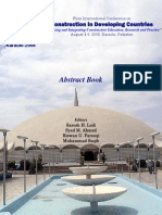 Construction in Developing Countries-Abstract Book