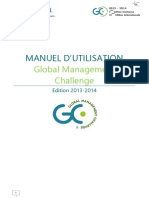 GLOBAL MANAGEMENT CHALLENGE Manuel Du Joueur