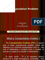Introduction to Transportation Problem