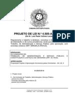 Projeto de Lei 4505 de 2008