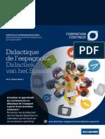 Brochure Didactique Espagnole IUFC