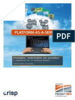 Platform as a Service. Strategies, technologies and providers