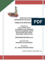 Investigacion de Desarollo Sustentable