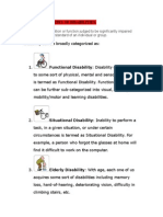 Unit - 3 - Various Types of Disabilities
