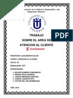 Area de Servicio Scotiabank peru