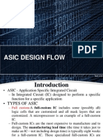 asic design flow