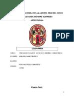 Etnografia Por Las Elecciones Municipales