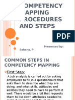 Competency Mapping Procedures and Steps