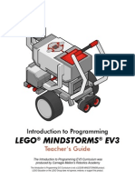 EV3 Teachers GuideWEB