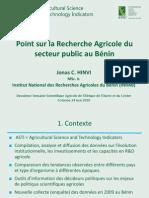 CORAF Science Week - ASTI Benin