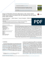 Impact of Fukushima-derived radiocesium in the western North Pacific Ocean about ten months after the Fukushima Dai-ichi nuclear power plant accident
