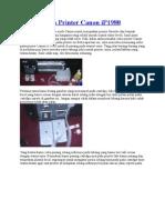 Pasang Infus Printer Canon.doc
