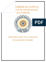 Railway over bridge training report
