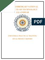 Railway over bridge training report