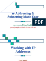 Pjsmith IP Addressing & Subnetting Made Easy